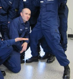 Martin in Coast Guard Boot Camp