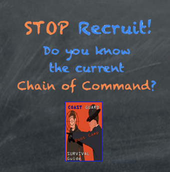USCG Current Chain of Command | Coast Guard Required Knowledge For USCG Basic Training