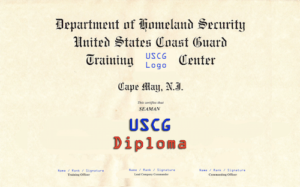 USCG Graduation Diploma | Download the Coast Guard Boot Camp Survival Guide PDF