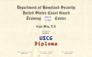 USCG Graduation Diploma   Download the Coast Guard Boot Camp Survival Guide PDF