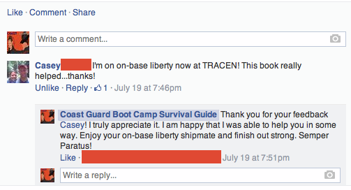 Coast Guard Boot Camp Survival Guide Reviews #7